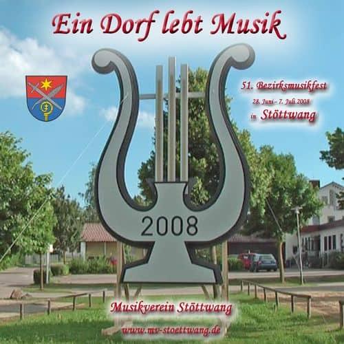 DVD vom Musikfest 2008 in Stöttwang - Ein Dorf lebt Musik