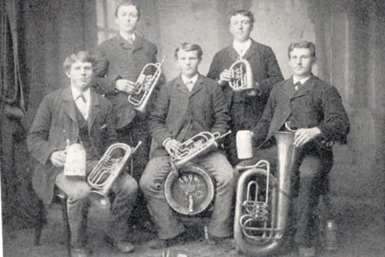 1894 Stöttwanger Bläsergruppe