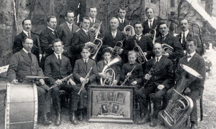 1920 Musikkapelle Stöttwang