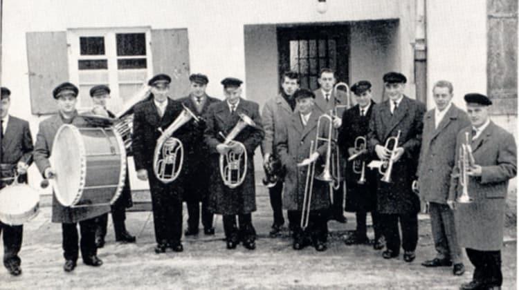 1955 Thalhofener Musikkapelle