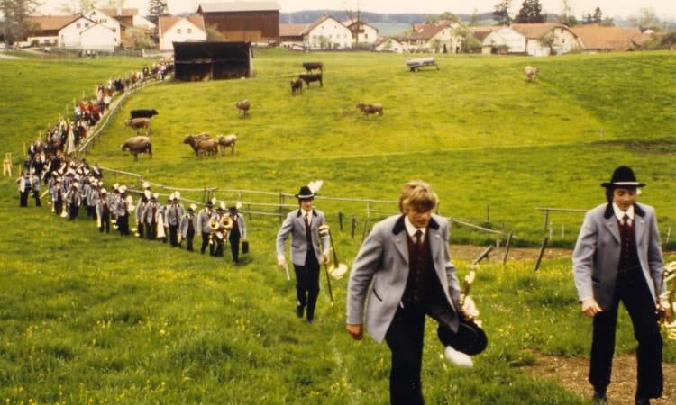 1984 Festzug auf die Melter