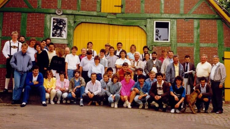 1987 erste Fahrt nach Strom (Bremen)