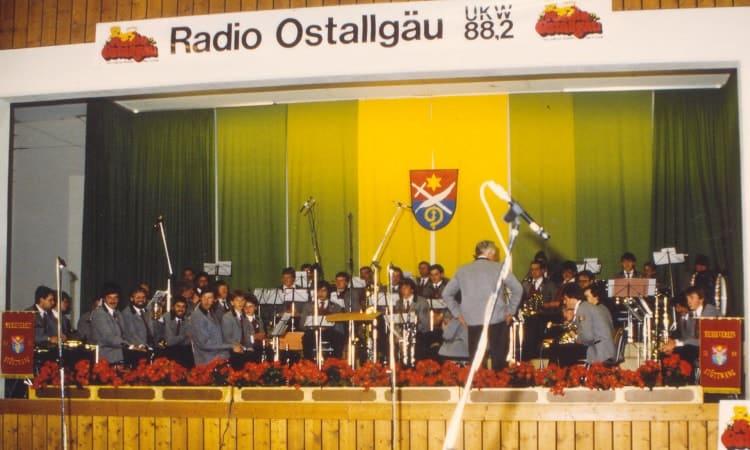 1987 live Aufnahme von Radio Ostallgäu