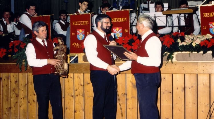 1990 Verabschiedung von Josef Lohbrunner