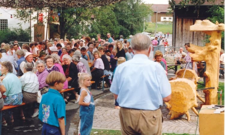 1992 erstes Brunnenfest