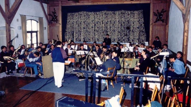 """1994 Aufnahme der Musikkasette """"Wir grüßen mit Musik"""""""