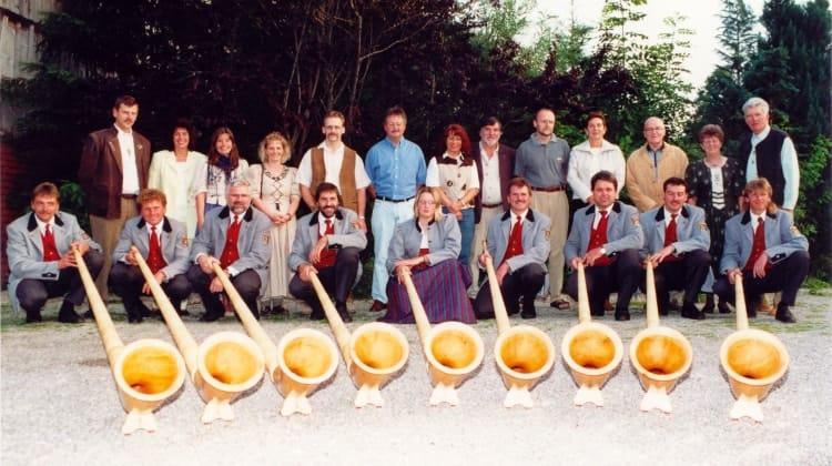 2000 Sponsoren der Alphörner