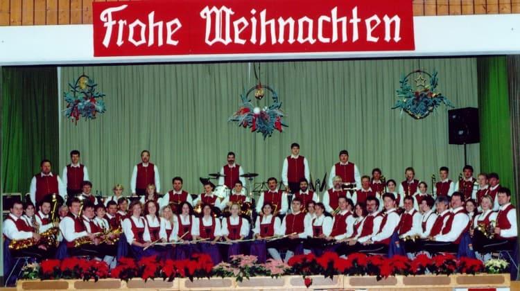2000 Weihnachtskonzert unter der Leitung von Leo Fischer