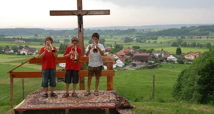2009 Jungmusiker auf dem Melterfest