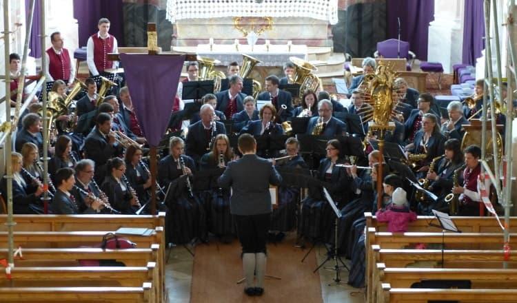 Kirchenkonzert 2014 unter der Leitung von Detlef Hora
