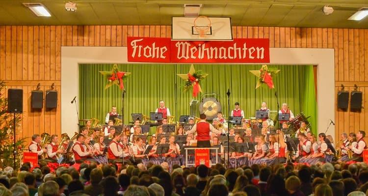 2014 Weihnachtskonzert unter der Leitung von Thomas Wieser