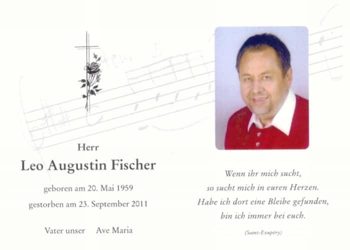 im Gedenken an Leo Fischer