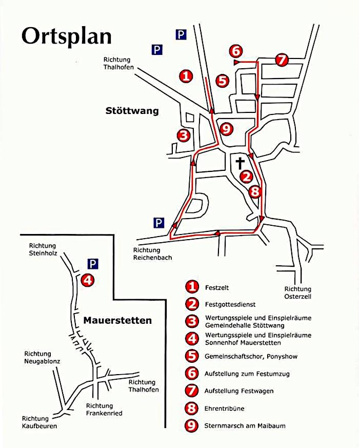 Lageplan 2008