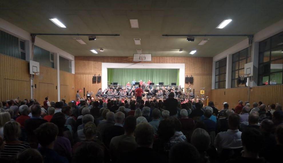 Benefizkonzert des Gebirgsmusikkorps