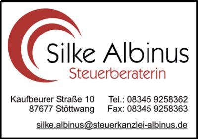 Silke Albinus Steuerberaterin