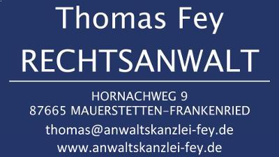 Thomas Fey Rechtsanwalt