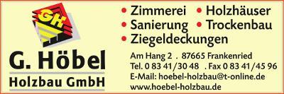 G. Höbel Holzbau