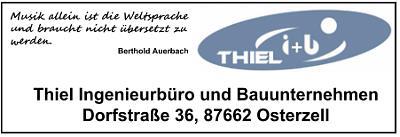 Bauunternehmen & Ingenieurbüro Werner Thiel